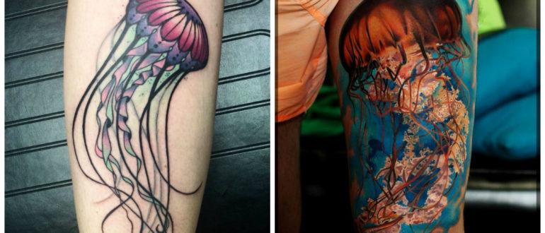 Tatuajes de medusa- un simbolo de tranquilida y paz