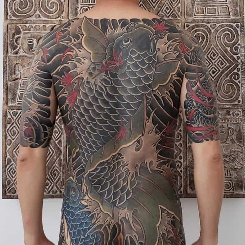 Tatuajes-de-pez-koi-Tatuajes-de-peces-Koi-únicos-y-su-simbolismo-para-interesados