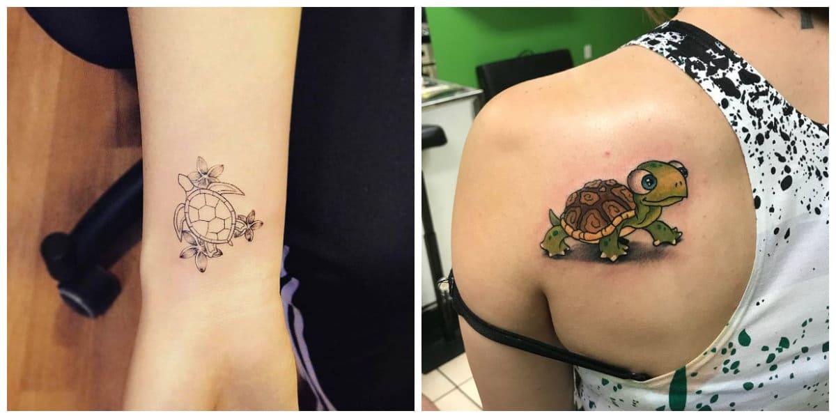 Tatuajes de tortugas- es un simbolo de estabilidad y longevitud
