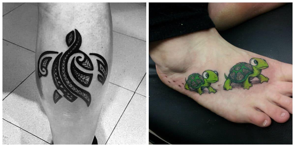 Tatuajes de tortugas- algunas ideas de imaganes de tortuags de tatuaje