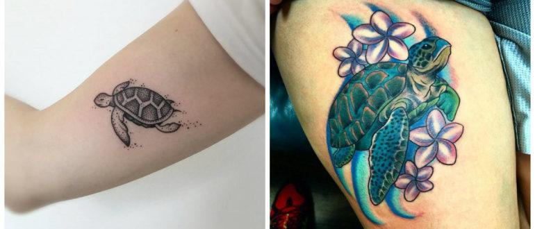 Tatuajes de tortugas- este animal es queirdo tanto por hombres com por mujeres