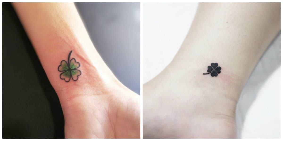Tatuajes de trebol- tendencias tradicionales que vuelven de moda