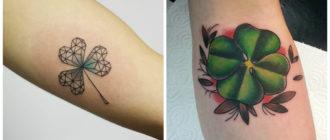 Tatuajes de trebol- ideas e imagenes elegantes para todos