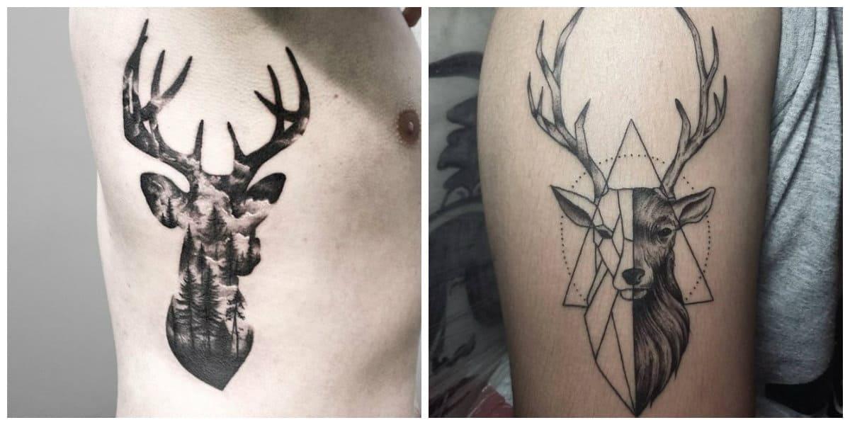 Tatuajes de venados- este anima tiene varias representaciones en diferentes culturas