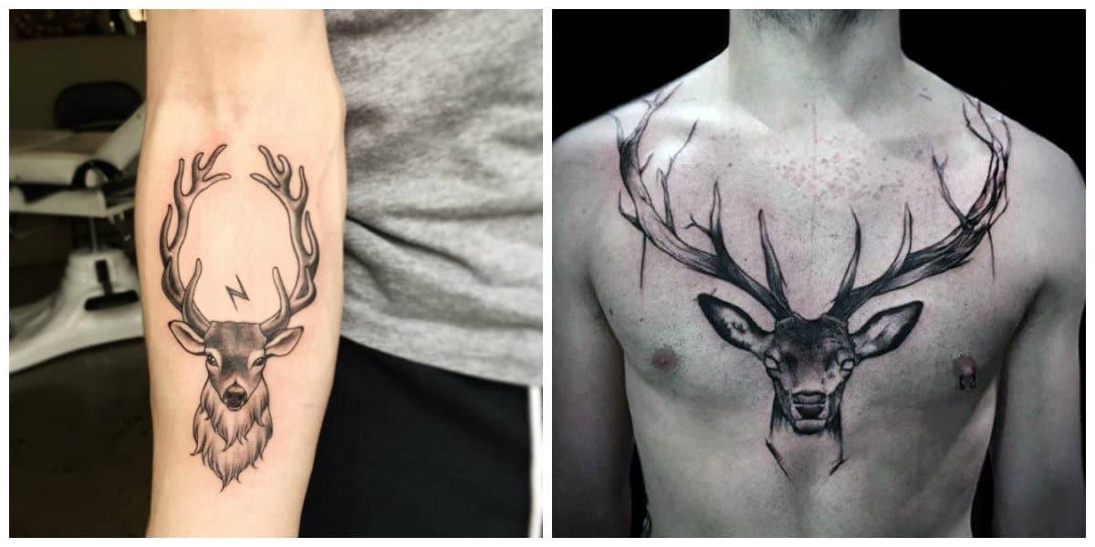Tatuajes de venados- este animal es un simbolo de gracia y amor