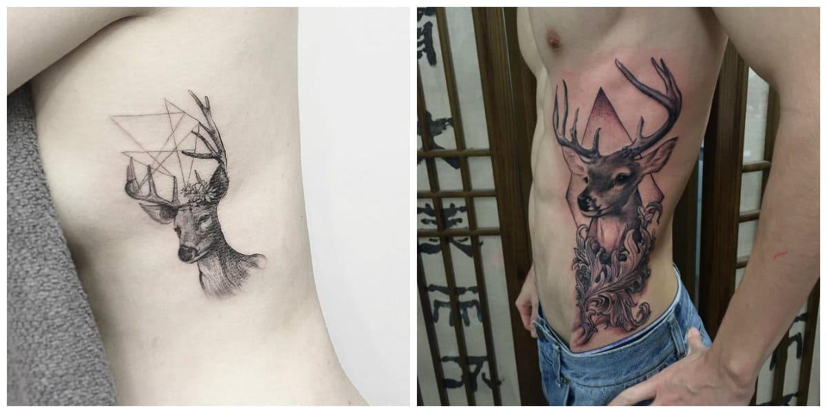 Tatuajes de venados- algunas ideas ppara los que aman a este animal