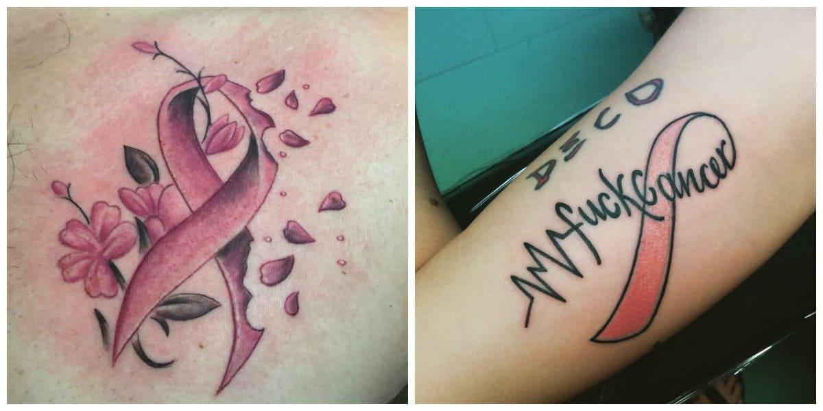 Tatuajes del signo Cancer- puede ir acompanado con frases populares