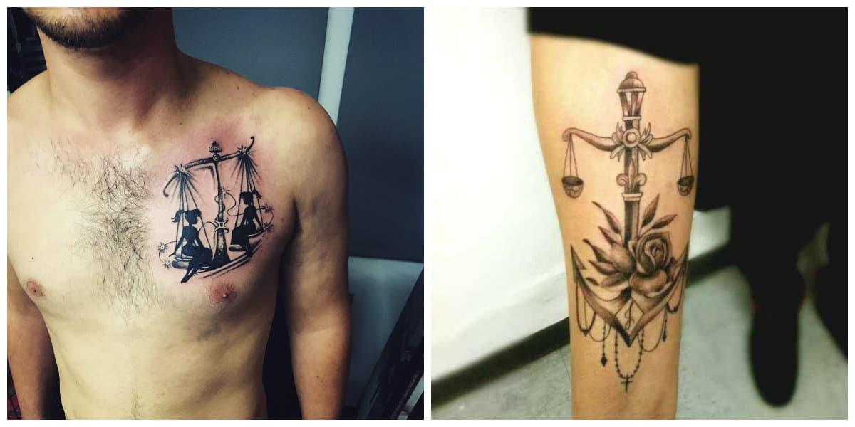 Tatuajes del signo libra- este signo tiene simbolismo unico y hermoso