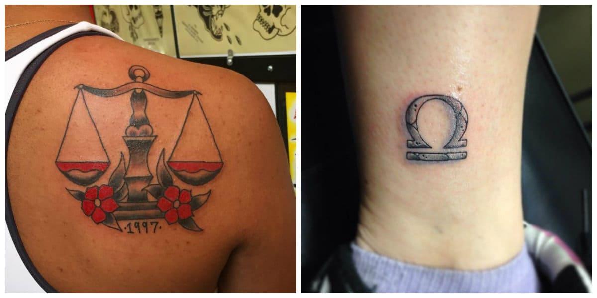 Tatuajes del signo libra- algunas imagenes e ideas perfectas de moda