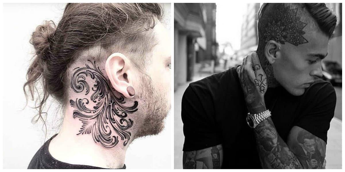 Tatuajes en la cabeza- pueden abarcar tambien parte del cuello