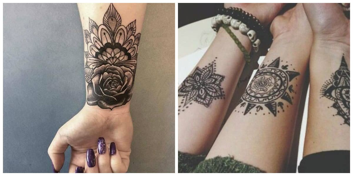 Tatuajes en la muñeca- imagenes e ideas muy modernas para las chicas