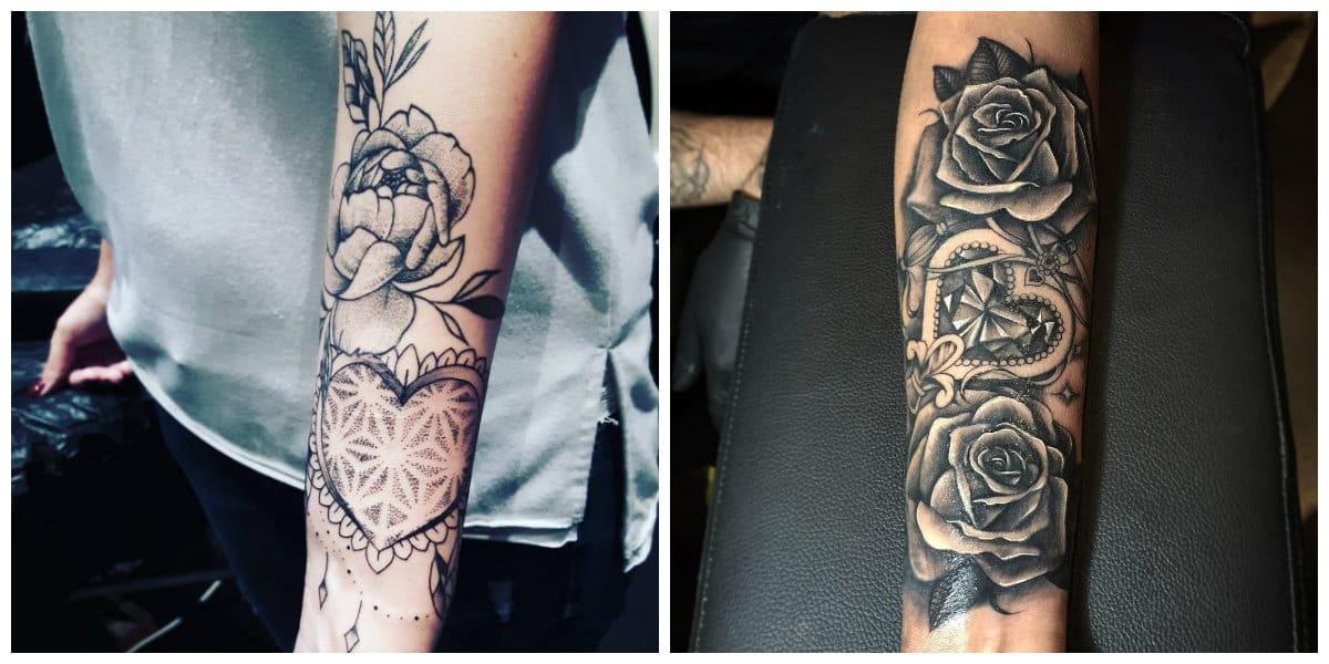 Tatuajes para mujer en el brazo- tendencias principales de moda