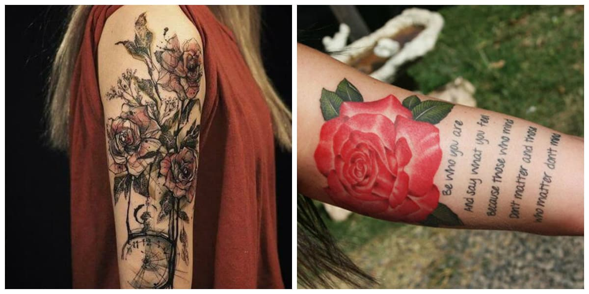 Tatuajes para mujer en el brazo- imagenes interesantes de moda Tatuajes-para-mujer-2018
