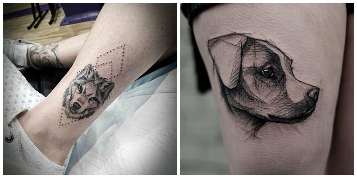 Tatuajes perros- imagenes e ideas muy vreativas para todos