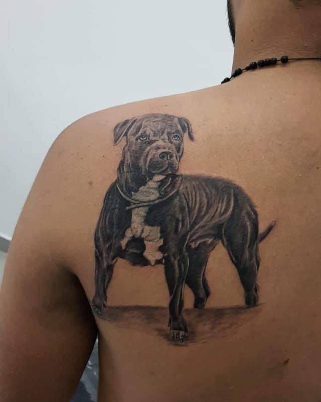 Tatuajes-perros-Diseños-populares-del-tatuaje-del-perro-para-amantes-de-animales