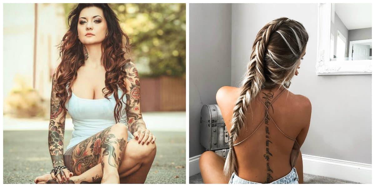 Tatuajes sexis para mujeres- todas las tendencias principales en uso Tatuajes-para-mujer-2018