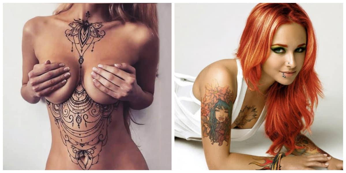Tatuajes sexis para mujeres- chicas y mujeres que quieren verse mas sexy