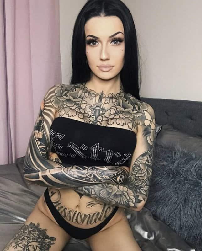 Tatuajes Sexis Para Mujeres Diseños Populares De Tatuajes