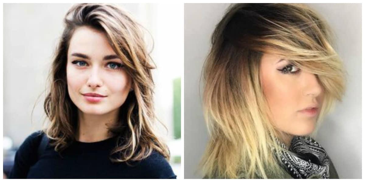 Peinados media melena 2019- los colores preferidos