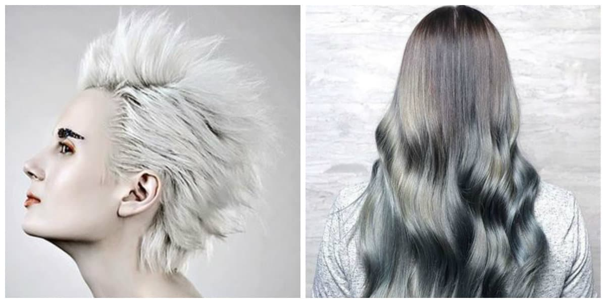 Peinados para abuelitas- una paleta de colores