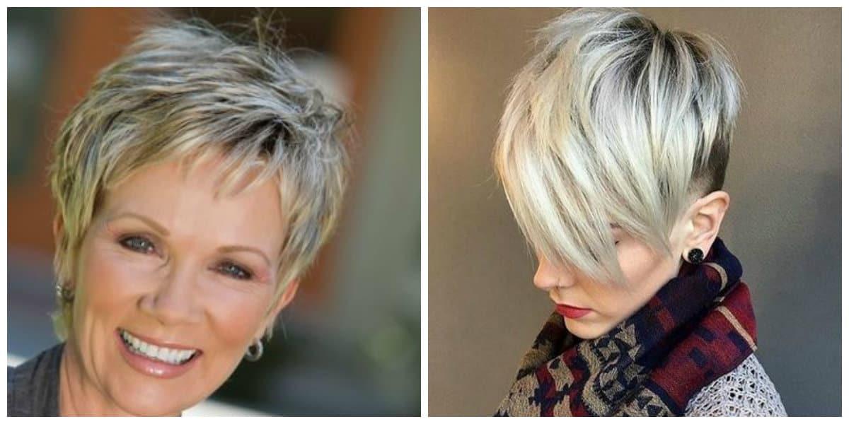 Peinados para abuelitas- colores para pelo corto