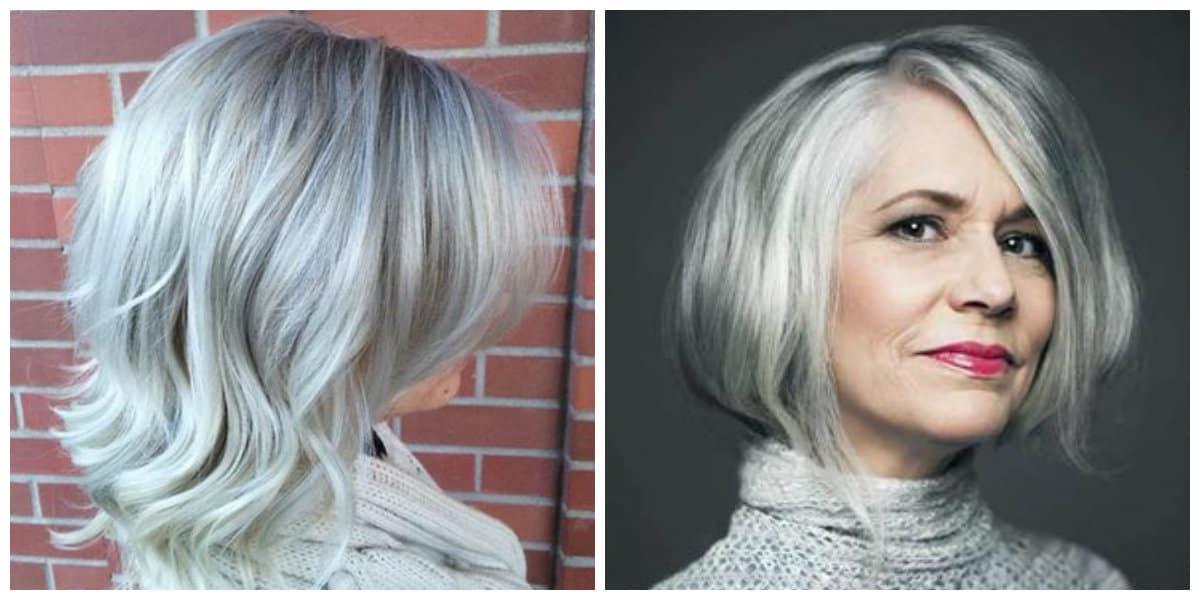 Peinados para abuelitas- es adecuado para mujeres y chicas