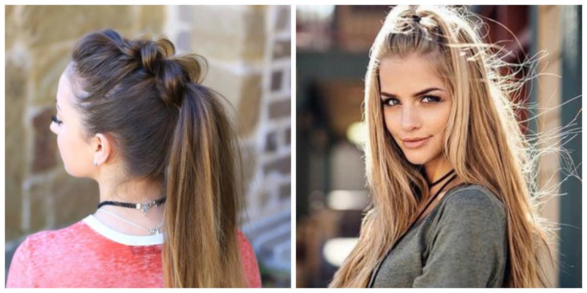Peinados para chicas 2019- ideas para pelo largo