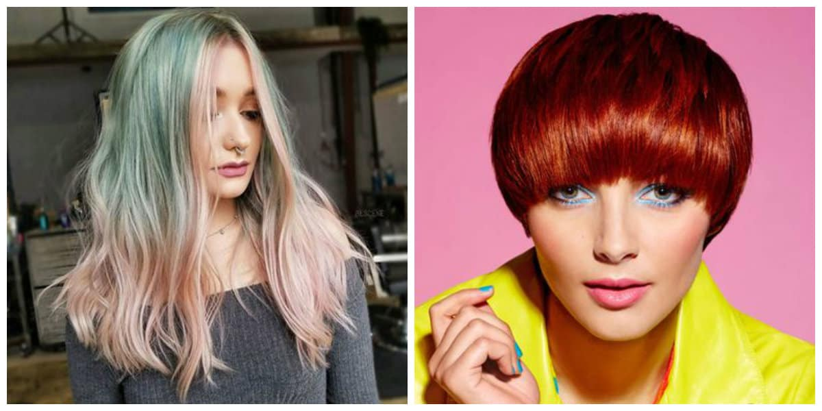 Tendencias color cabello 2019- para pelo largo y corto