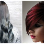 Tendencias color cabello 2019- tonalidades de rojo y violeta