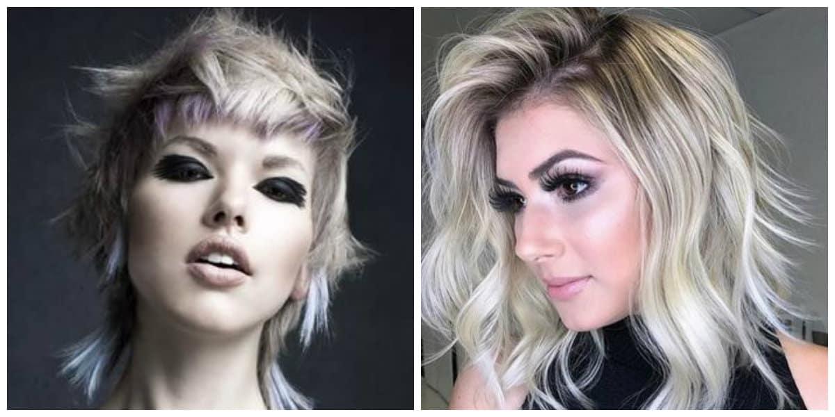 Tendencias de peinados 2019- tonalidades de gris