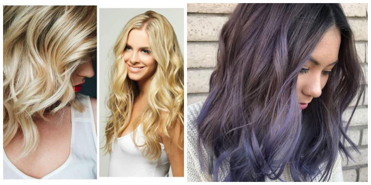Color de pelo balayage- colores diferentes para las mujeres