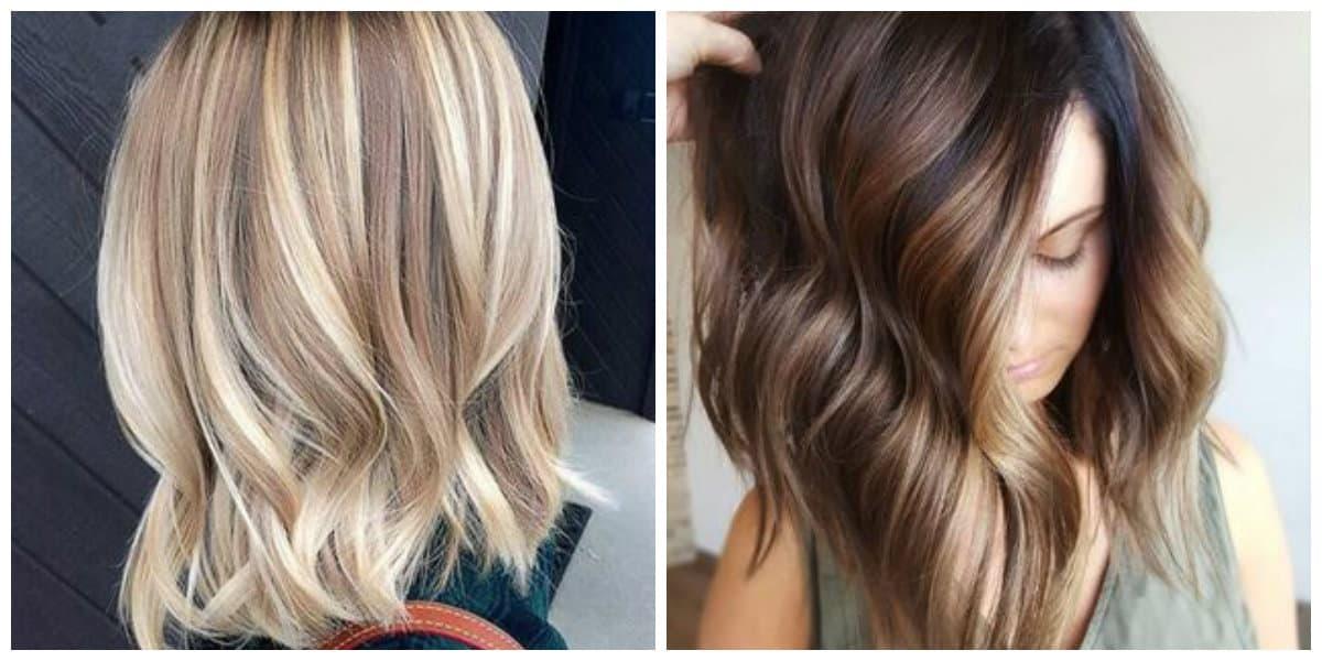 Color de pelo balayage- imagenes que te pueden ayudar