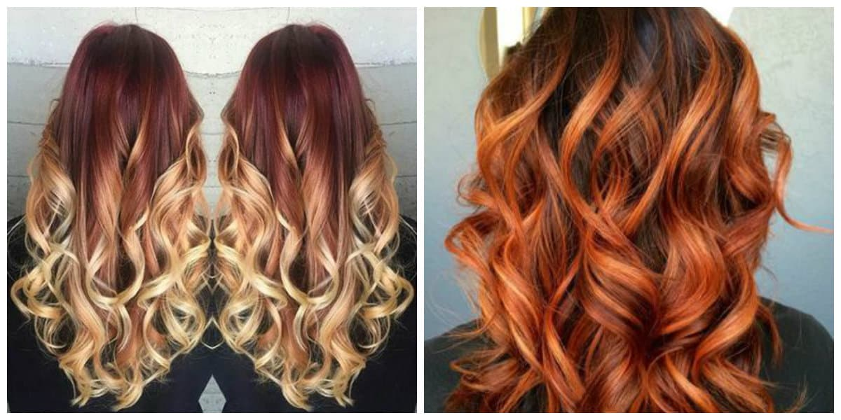 Color de pelo balayage- ideas de moda femenina
