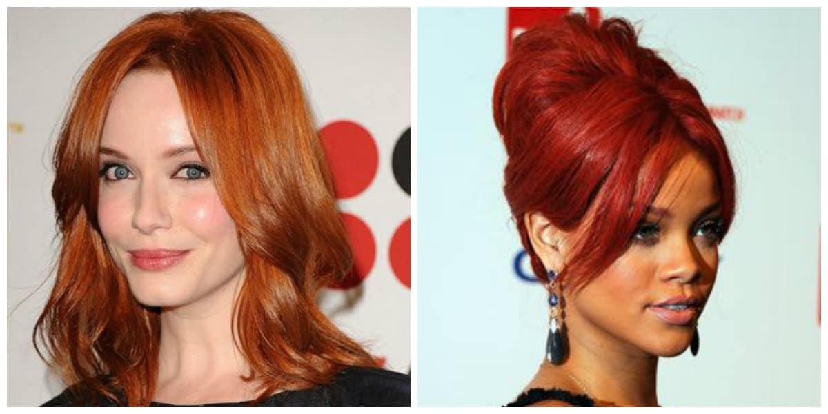 Color de pelo rojo- como hacer lucir tu pelo
