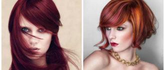Color de pelo rojo- cortes que estan muy elegantes