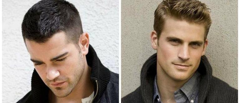Cortes de cabello corto hombre 2019- tendencias de pelo