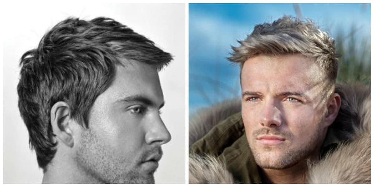 Cortes de cabello corto hombre 2019- moda masculina