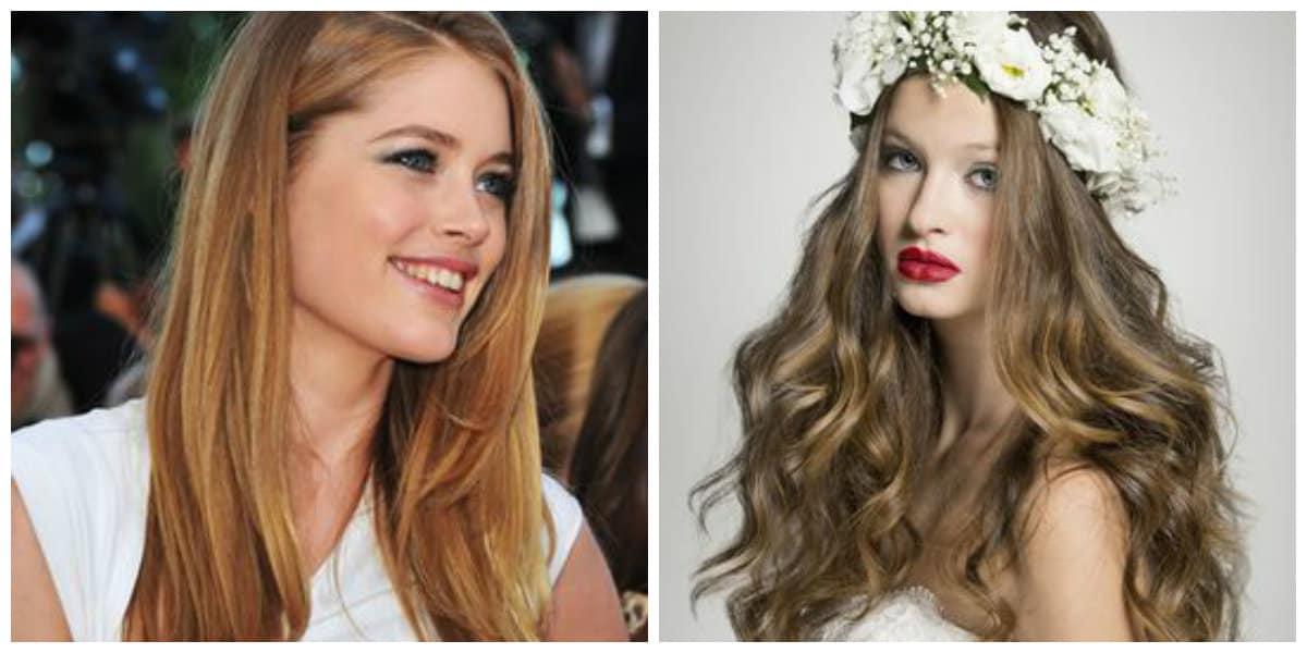 Cortes de pelo largo 2019- medios de hacer tu pelo brillar