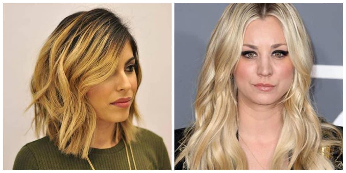 Cortes de pelo largo 2019- peinados para los blondie