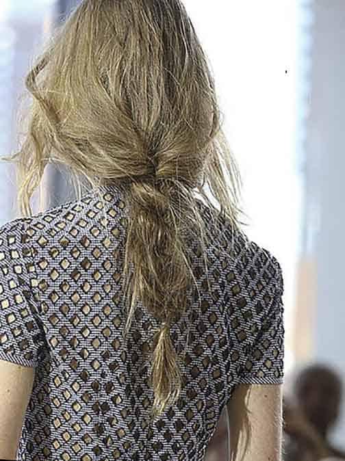 Peinados media melena 2019