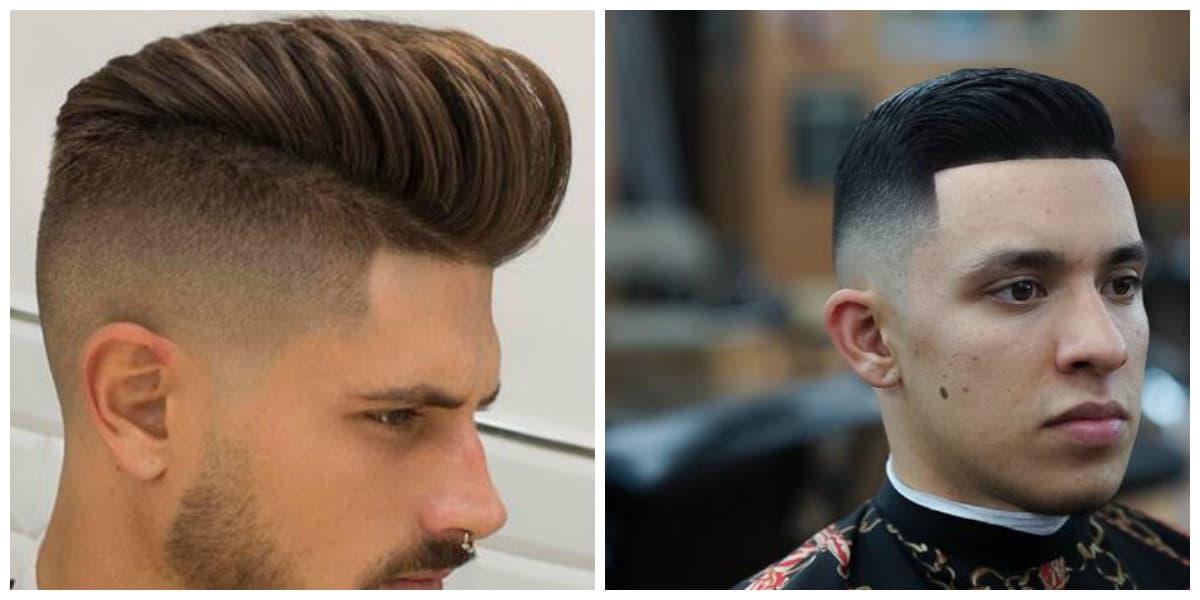 Fade cortes de pelo- tendencias principales de moda