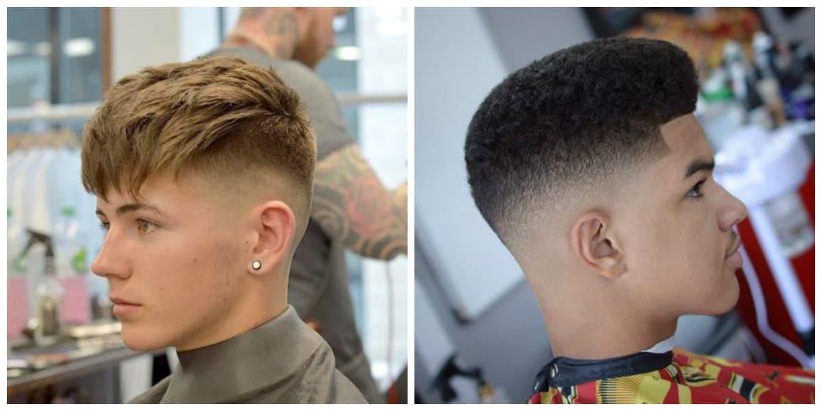 Fade cortes de pelo- ideas para los hombres y chicos