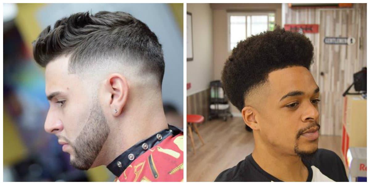 Fade cortes de pelo- moda masculina en tendencia