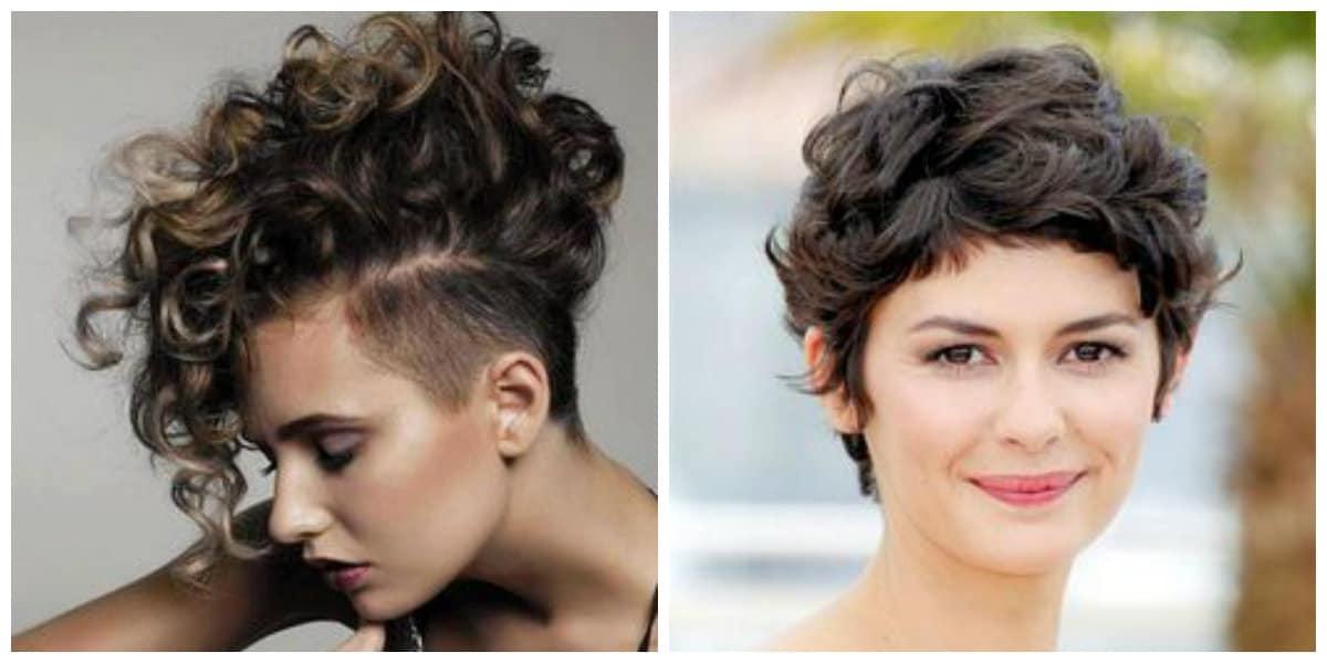 Peinados para pelo rizado 2019- algunas ideas