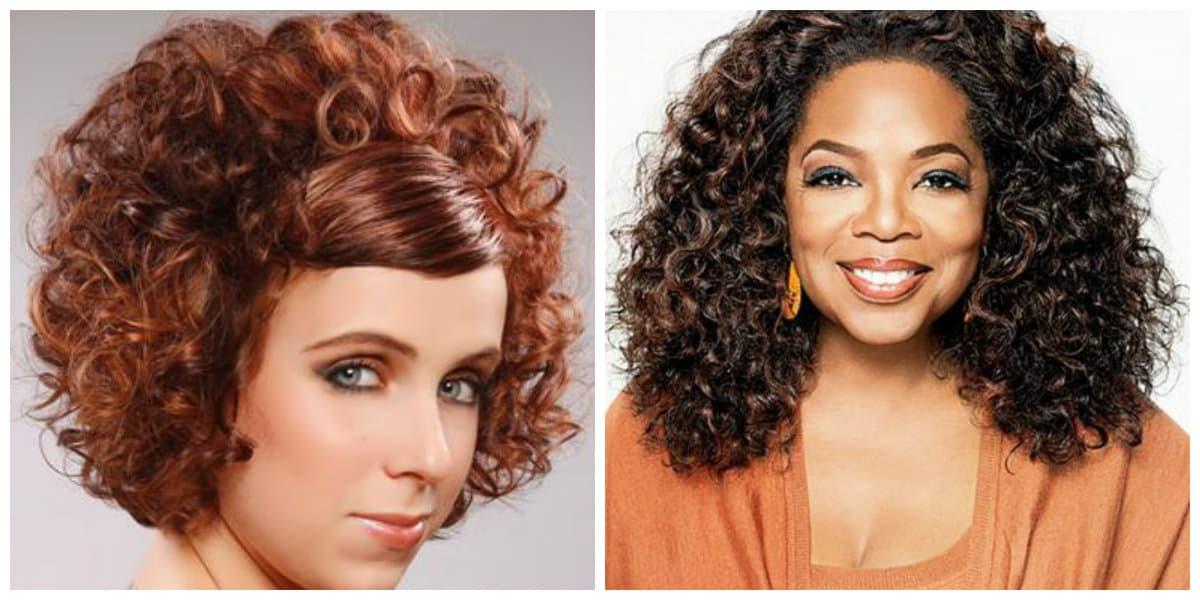 Peinados pelo rizado 2019- algunas tendencias de moda