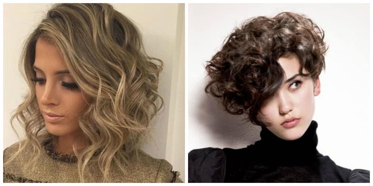 Peinados rizados 2019- adecuados para las mujeres
