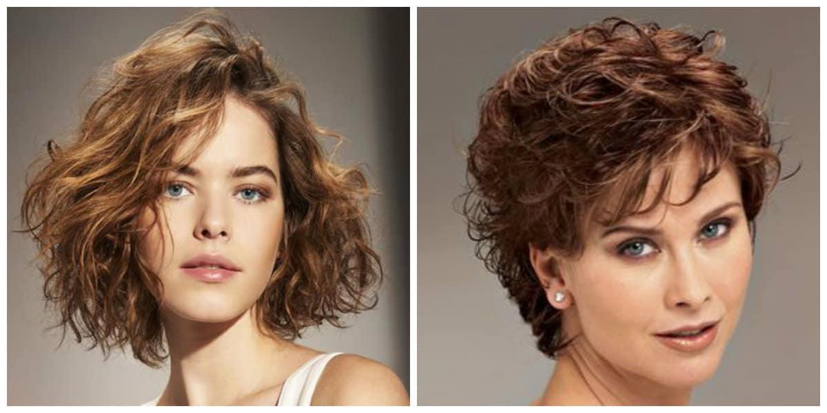Peinados rizados 2019- bobo siempre esta de moda