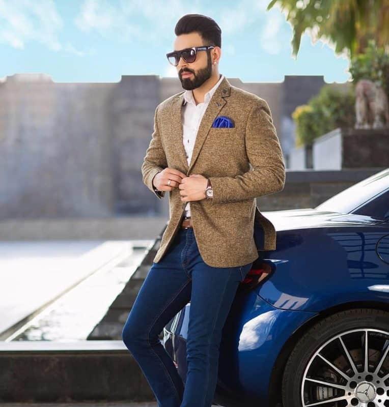 Blazer hombre 2019 - estilo de chaquetas americanos de moda