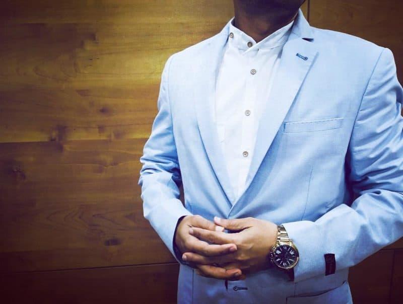 Blazer hombre 2019- azul marino muy claro para hombres