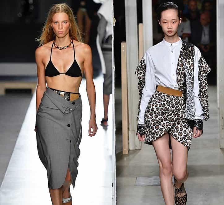 Faldas 2019- ideas desde los desfiles de moda